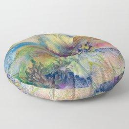 Riparian Fugue Floor Pillow