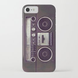 Retro Boombox iPhone Case