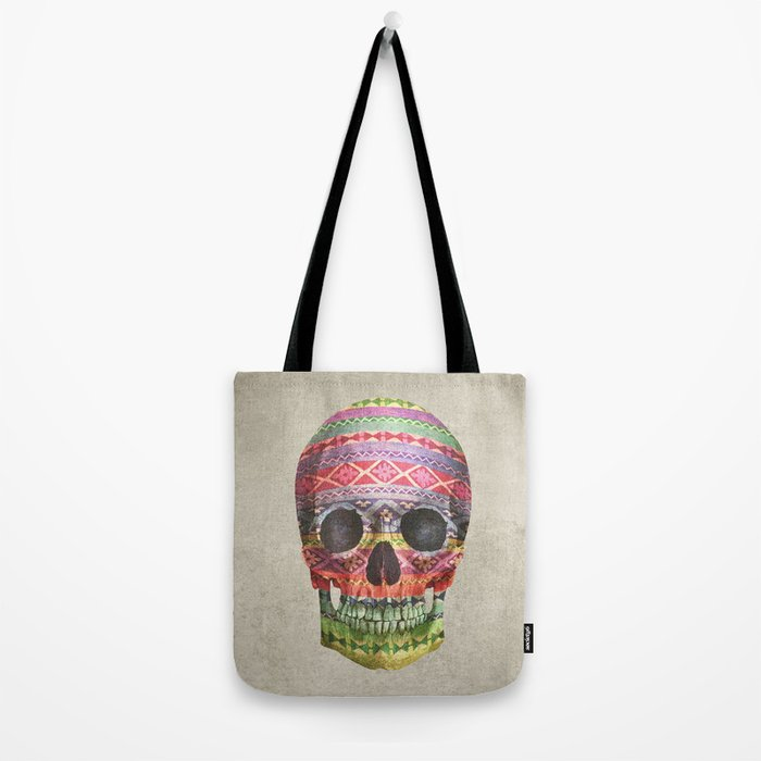 Navajo Skull  Tote Bag