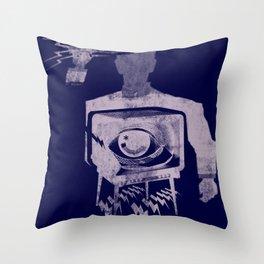 HYPODERMIC NEEDLE THEORY Throw Pillow