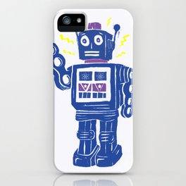 Toy Robot Parade iPhone Case
