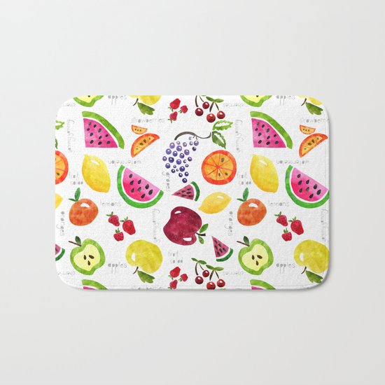 Fruit Salad Yummy Yummy Bath Mat