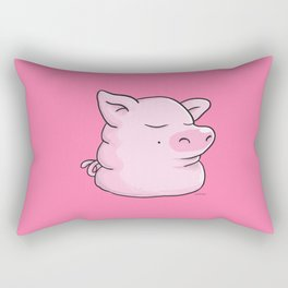 Piggy Catbear Rectangular Pillow