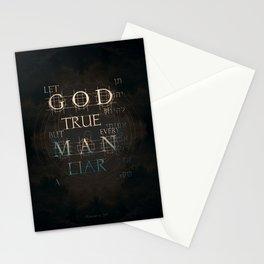 Let God Be True Stationery Cards