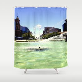 Victoria Square - Adelaide Shower Curtain