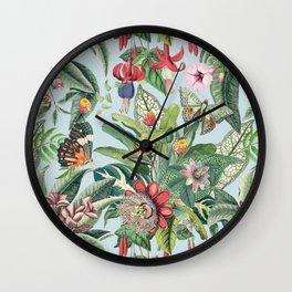 Tropical Paradise VI Wall Clock