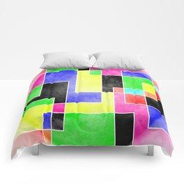 Colour Pieces Comforters