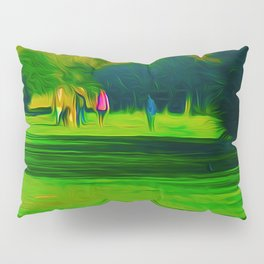 A walk in the park (Digital Art) Pillow Sham