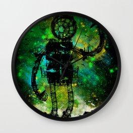 Mad Robot Wall Clock