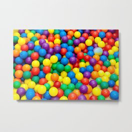 colored balls Metal Print