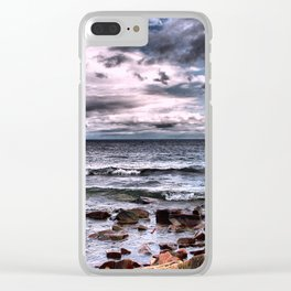 Superior Rocks and Shore Clear iPhone Case