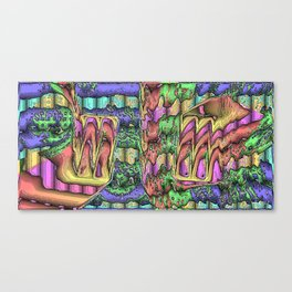 Plastic Wax Factory Vol 02 83 - IOD Canvas Print