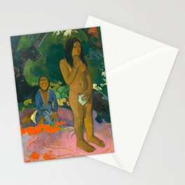 Paul Gauguin, Words of the Devil, 1892 Stationery Cards