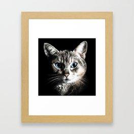 hello stranger! Framed Art Print