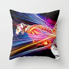 F. Mercury Throw Pillow