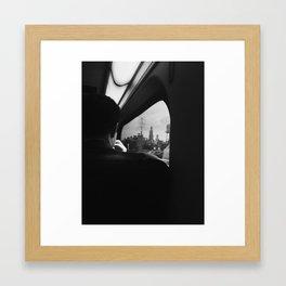City Reflection Framed Art Print