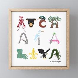 Atchafalaya 2 Framed Mini Art Print
