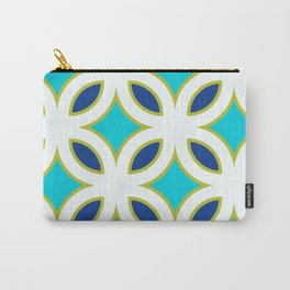 Trellis Teal Carry-All Pouch