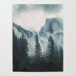 Cross Mountains Poster