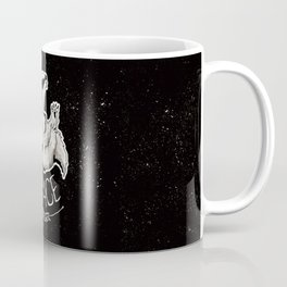 Space Badger by Devon Baker Coffee Mug
