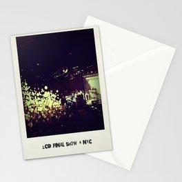 LCD Soundsystem Final Show Stationery Cards