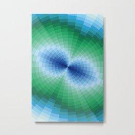 Blue-green fantasy Metal Print