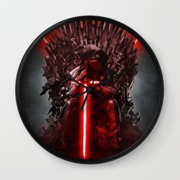 Star Game Wars Throne Wall Clock