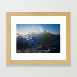 Breaking Tide Framed Art Print