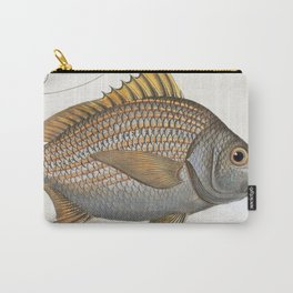 Vintage Illustration of an Yellow-Fin Grunt (1785) Carry-All Pouch