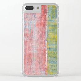 Simon Carter Painting Sanctum Clear iPhone Case