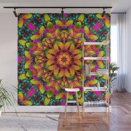 Floral Fractal Art G543 Wall Mural