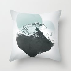 Mt. Everest - The Surreal North Face Throw Pillow