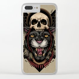 Hunt Or Be Hunted Clear iPhone Case