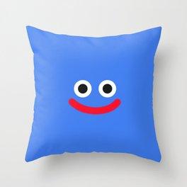 cute slime  Throw Pillow