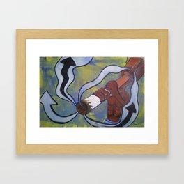 Smokers Nightmare Framed Art Print