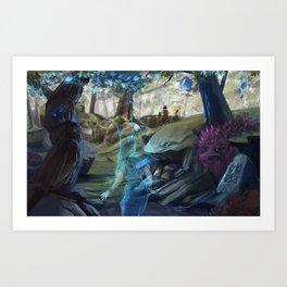 Seers Isle: In Their Footsteps Art Print