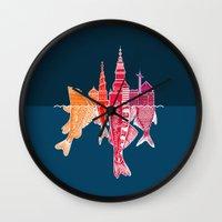 copenhagen Wall Clocks featuring Copenhagen by CAB Architects
