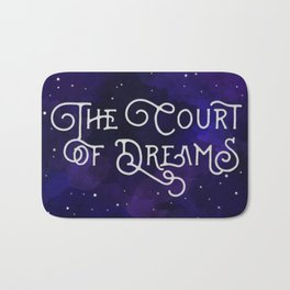 The Court of Dreams - A Court of Mist and Fury by Sarah J. Maas Bath Mat