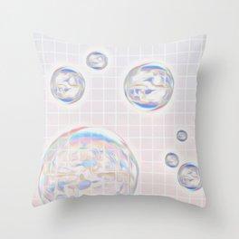 PinkyCircle  Throw Pillow