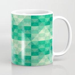 Green Checkered Coffee Mug