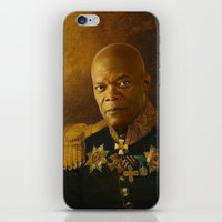 replaceface iPhone & iPod Skins featuring Samuel L. Jackson - replaceface by replaceface