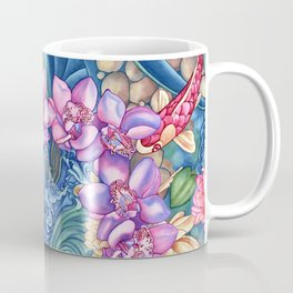 Orchid Splash Coffee Mug