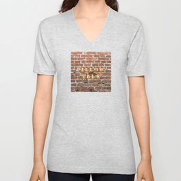 Pillow Talk - Brick Unisex V-Neck