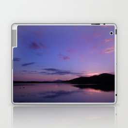 A Maine Pond Sunset Laptop & iPad Skin