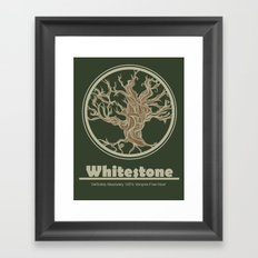Whitestone Framed Art Print