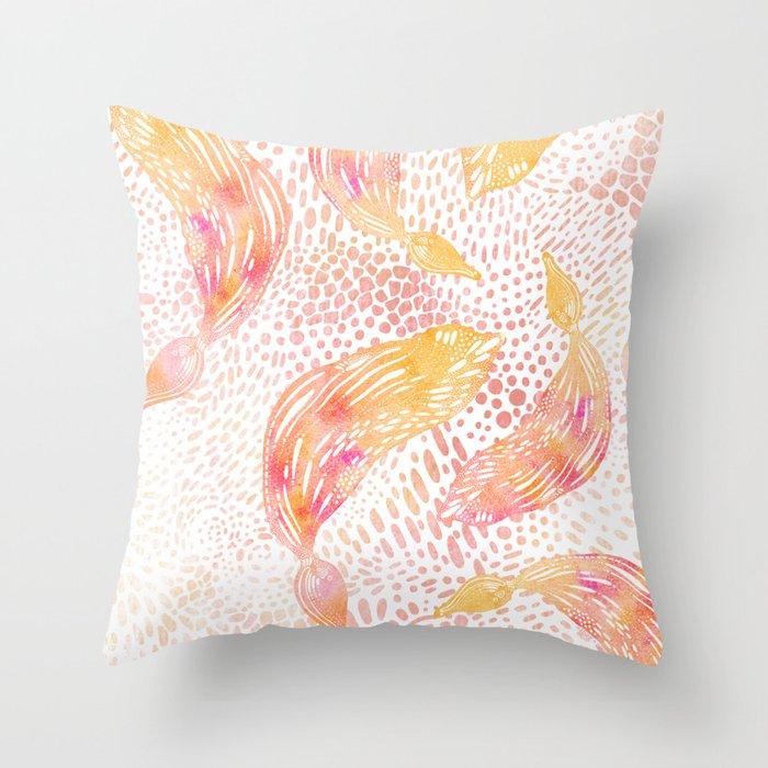 Kelp Dance Throw Pillow