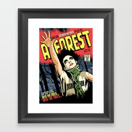 TFTS | Forest Framed Art Print