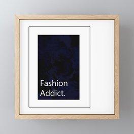 Fashion City: Fashion Addict Framed Mini Art Print