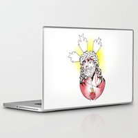 christ Laptop & iPad Skins featuring Christ by Morgan Soto