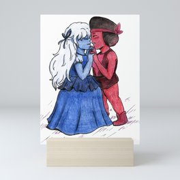 Ruby & Sapphire Mini Art Print